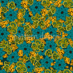 Vintage Flower And Paisley Vector Design