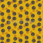 Afro Beans Pattern Design