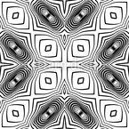 Im Kaleidoskop Nahtloses Vektormuster