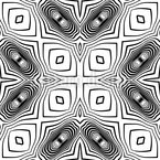 In The Kaleidoscope Seamless Vector Pattern Design