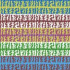 Bewegung von Flimmerhärchen Muster Design