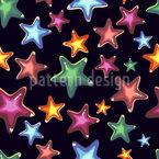 Estrellas Estampado Vectorial Sin Costura
