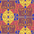 Opulenz zum Quadrat Vektor Muster