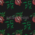Sensual Pomegranate Vector Design