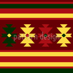 Traditional Kilim Repeat Pattern