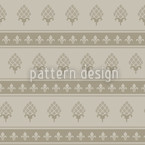 Royal Bourbon Seamless Vector Pattern Design