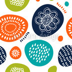 Scandinavian Summers Seamless Vector Pattern Design