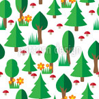 Forest Walk Pattern Design