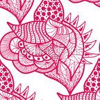 Lebhafte Fantasie Vektor Muster