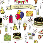 Happy Birthday Repeat Pattern