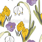 Spring Mix Seamless Vector Pattern Design