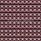 モザイク魚 シームレスなベクトルパターン設計