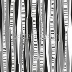 Retro Birkenwald Vektor Muster