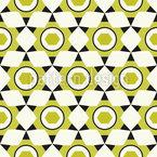 Über Sechs Ecken Muster Design