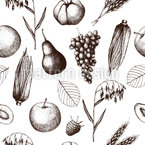 Late Harvest Seamless Vector Pattern Design