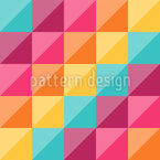 Uptown Squares Seamless Vector Pattern Design