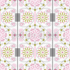 Korean Flower Vector Pattern