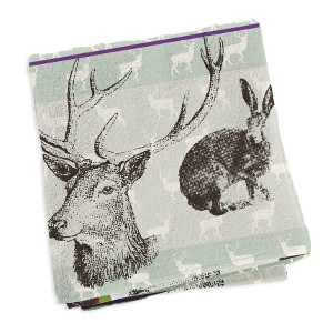 Pattern Design API sample towel with deer
